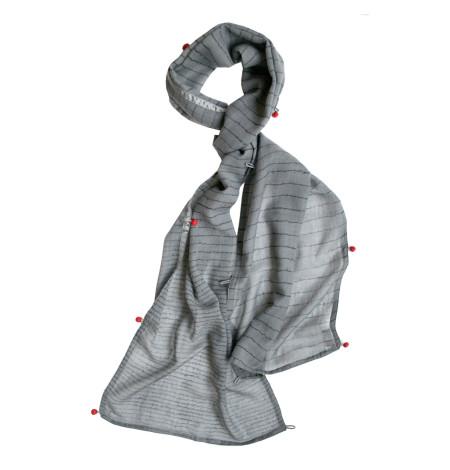 Bloomsbury fine wool scarf – wide