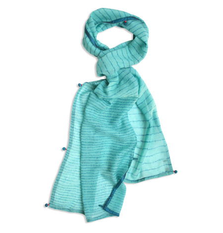 Kensington wool scarf-wide