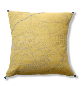 featured -London map cushion