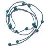 grey-teal beads
