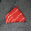 Ruby pocket square