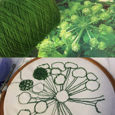 Garden Machine Embroidery Workshop