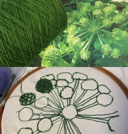 Garden Machine Embroidery Workshop